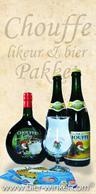 Chouffe Likeur en Bierpakket plus Bokaal