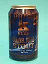 Kees Caramel Fudge Stout Moonshine Bourbon BA 33cl