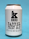 Kees Barrel Project 20.03 Barley Wine BA Islay Whisky 33cl