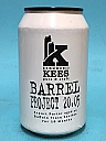 Kees Barrel Project 20.05 Export Porter Buffalo Trace Bourbon BA 33cl