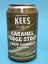 Kees Caramel Fudge Stout Jack Daniels BA 33cl