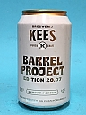 Kees Barrel Project 20.07 Export Porter Cognac BA 33cl