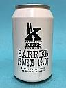 Kees Barrel Project 19.07 Export Porter Brandy BA 33cl