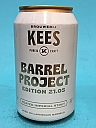 Kees Barrel Project 21.05 Peated Imperial Stout Laphroaig BA 33cl