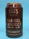 Kees Barrel Project 21.09 Indian Summer Bock Whisky BA 33cl
