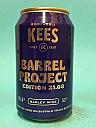 Kees Barrel Project 21.08 Barley Wine Buffalo Trace BA 33cl