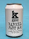 Kees Barrel Project 20.04 Export Porter Moonshine Bourbon BA 33cl